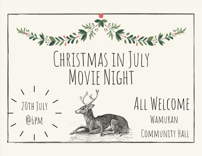 Christmas in july 19